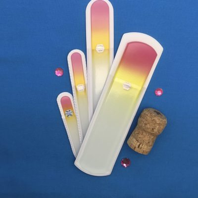 Mimosa Set of 4 Glass Nail and Pumice Files